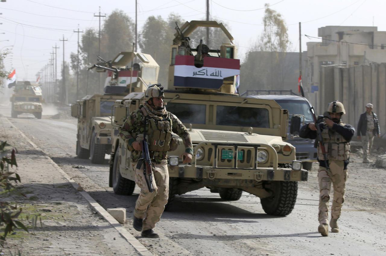 داعش صنع أسلحة كيماوية  في جامعة الموصل