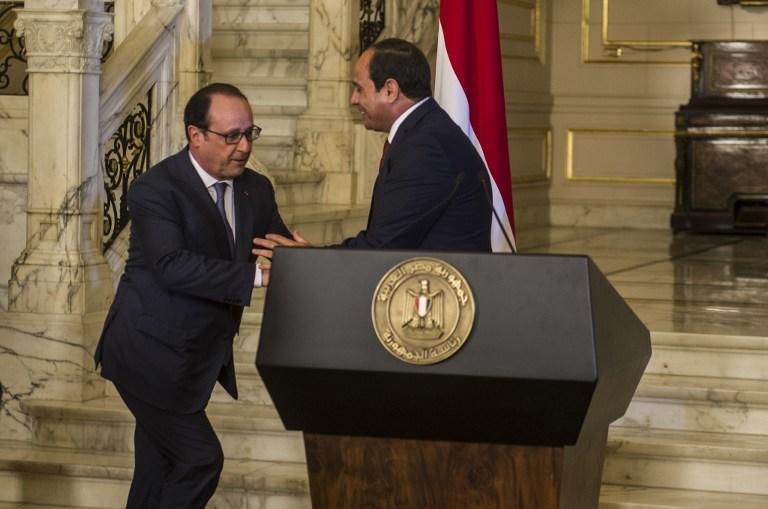 فرنسا  تدشن قمر صناعيا للجيش المصري بلمياري يورو
