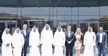 الجابر يناقش مع  الإمارات دبي الوطني مصر فرص دعم الاقتصاد المصري