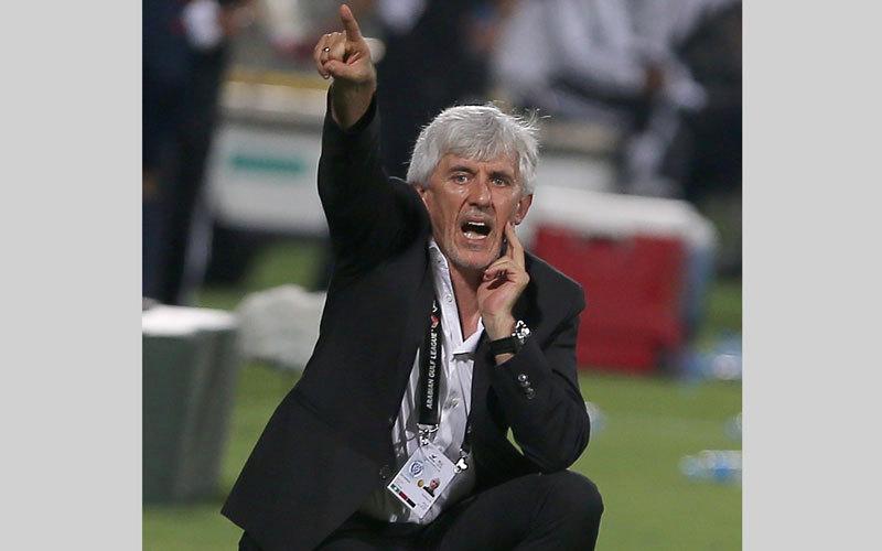 يوفانوفيتش: الكرة الإماراتية لم تتطور في آخر موسمين