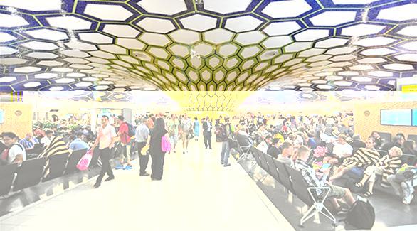 نمو عدد المسافرين الى 21,7% بمطار أبوظبي