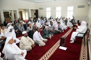 ضيوف رئيس الدولة يبدأون محاضراتهم في المساجد حول استقبال رمضان