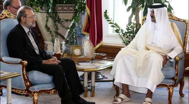 أمير قطر يؤكد رفض بلاده أي عمل عسكري ضد إيران