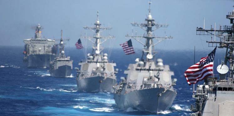البحرية الأمريكية تدفع بمجموعة هجومية صوب شبه الجزيرة الكورية