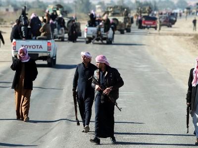 الدولة الإسلامية تطرق أبواب بغداد بعشرة آلاف مقاتل