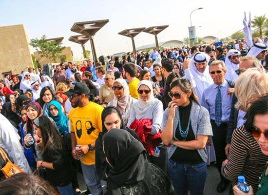 مسيرة في قطر تضامناً مع ضحايا تشابيل هيل