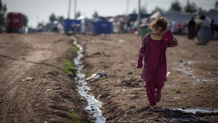 البرد والجوع في مواجهة أهالي مدينة الموصل العراقية