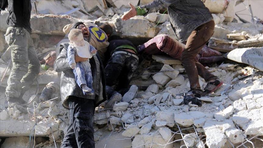 مقاتلات بوتين والأسد تقتل 271 مدنيا في العشر الأولى من رمضان