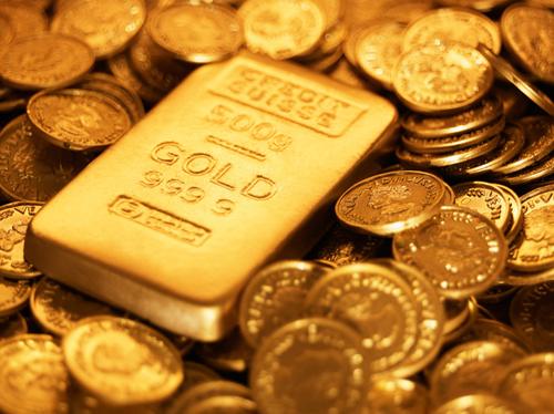 ارتفاع الذهب بعد هبوطه إلى أدنى مستوى في 6 أسابيع