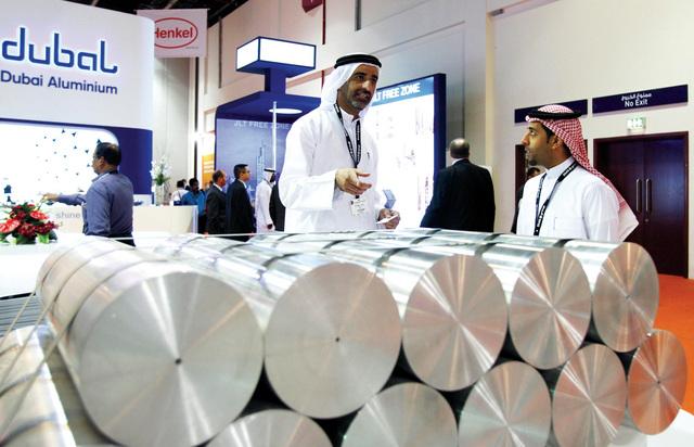 دبي تستضيف معرض ألومنيوم الشرق الأوسط أبريل القادم
