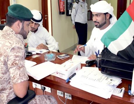 تسجيل مجندي أبناء دلما داخل الجزيرة
