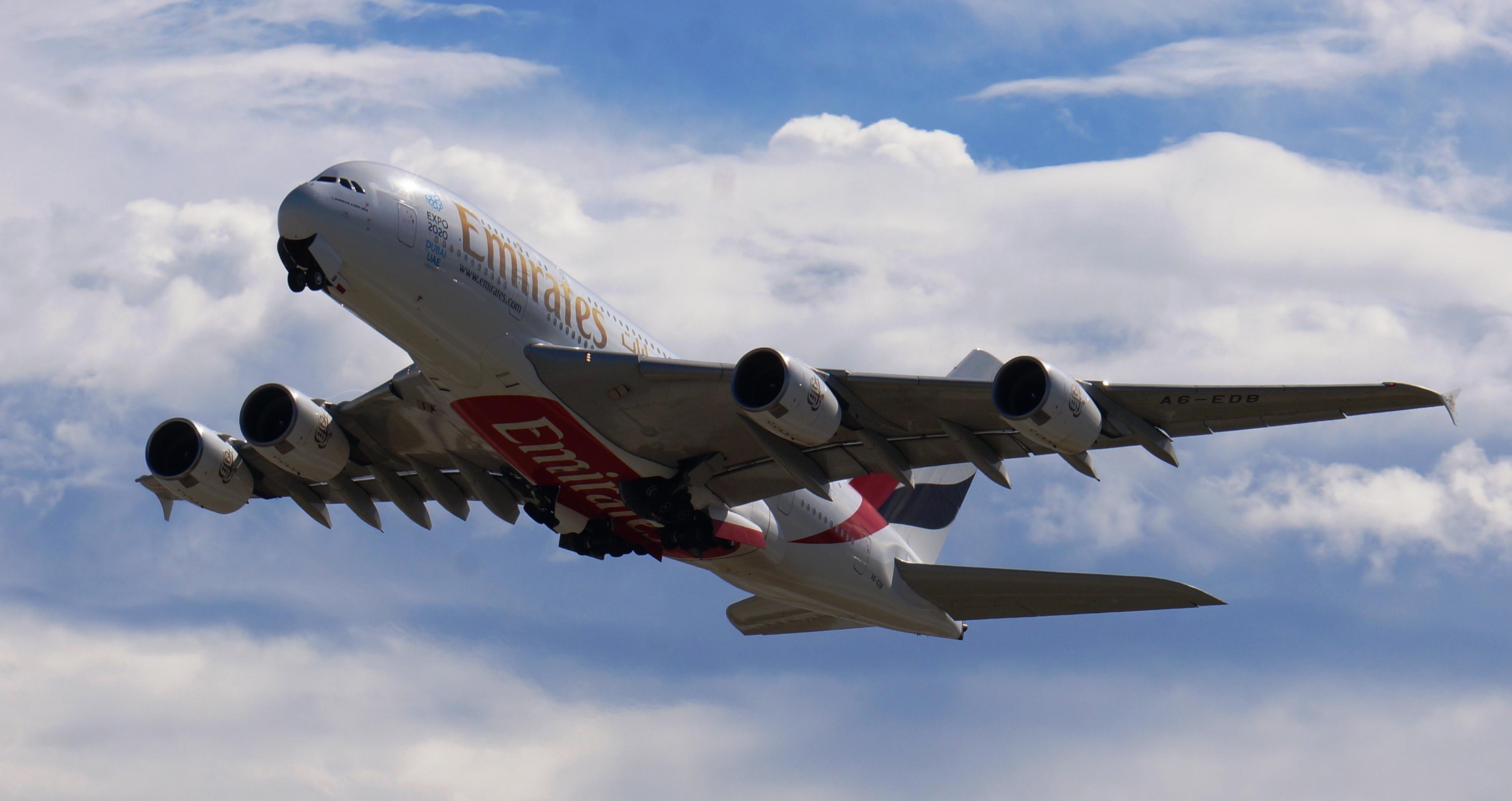 طيران الإمارات تؤكد قدرتها على مضاعفة نموها