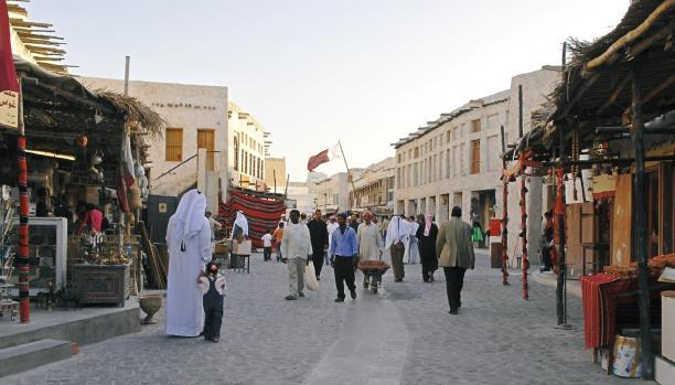 2.2 مليون نسمة عدد سكان قطر غالبيتهم من الأجانب