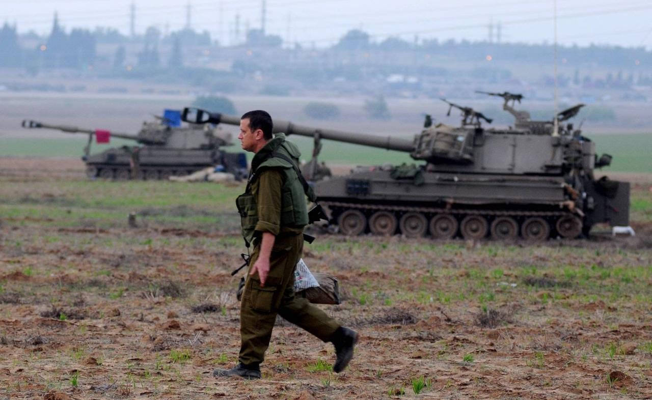 استهداف آلية عسكرية إسرائيلية بعبوة في محيط غزة