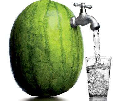 نصيحة توصي بأكل الماء لا بشربه!
