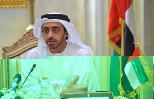 عبد الله بن زايد : شعوب المنطقة لديها فهم أعمق لقضاياها