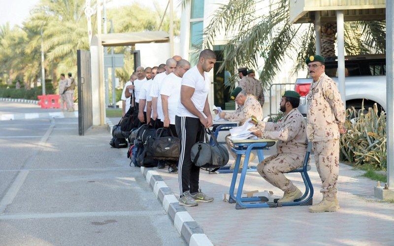 مراكز تدريب القوات المسلحة تستقبل الدفعة التاسعة