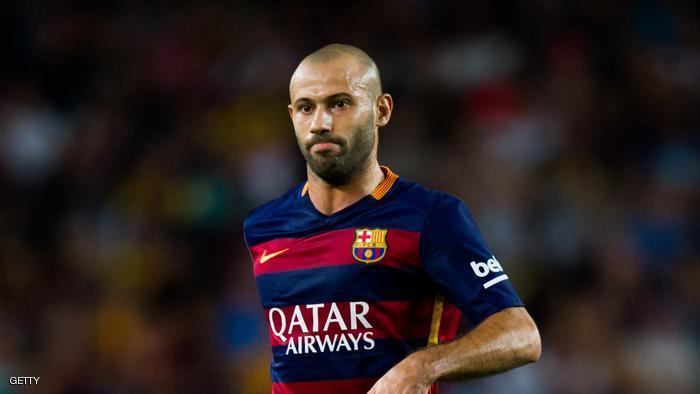 غياب محتمل لنجم برشلونة ماسكيرانو عن نهائي كأس الملك