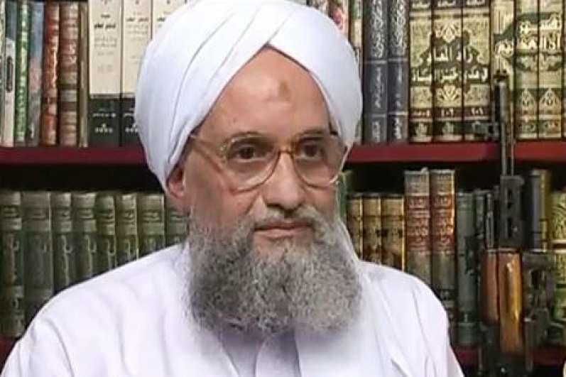 الظواهري يبايع زعيم حركة طالبان على الطاعة والجهاد