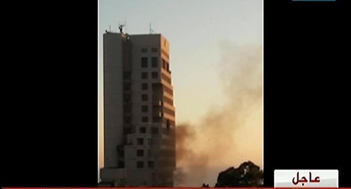 انفجار في فندق وسط بيروت