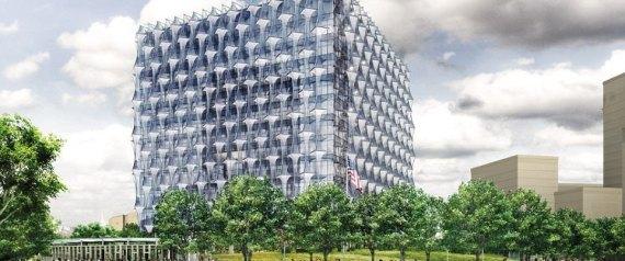 أغلى سفارة في العالم كلفت مليار دولار ومضادة للهجمات كافة