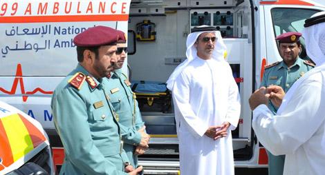 موظفو حكومة أبوظبي يخضعون لتدريبات على حالات الطوارئ الصحية