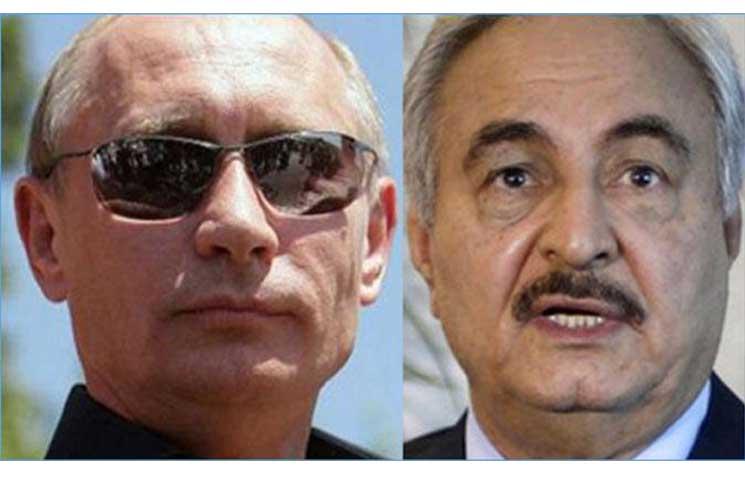 موقع إسرائيلي: بوتين يسعى للتدخل عسكريا في ليبيا بدعم إماراتي