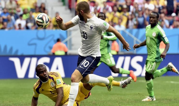 فرنسا تصعد إلى الدور الـ8 بمونديال بعد فوزها على نيجيريا