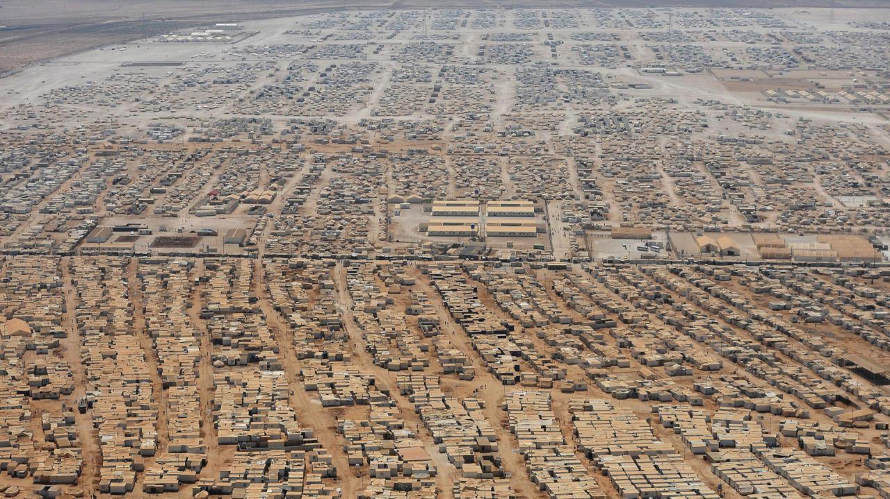 وزير أردني: بلادنا وصلت لمستوى التشبع باللاجئيين السوريين
