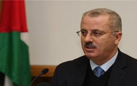رئيس الوزراء الفلسطيني يطالب الدول المانحة بتنفيذ تعهداتها