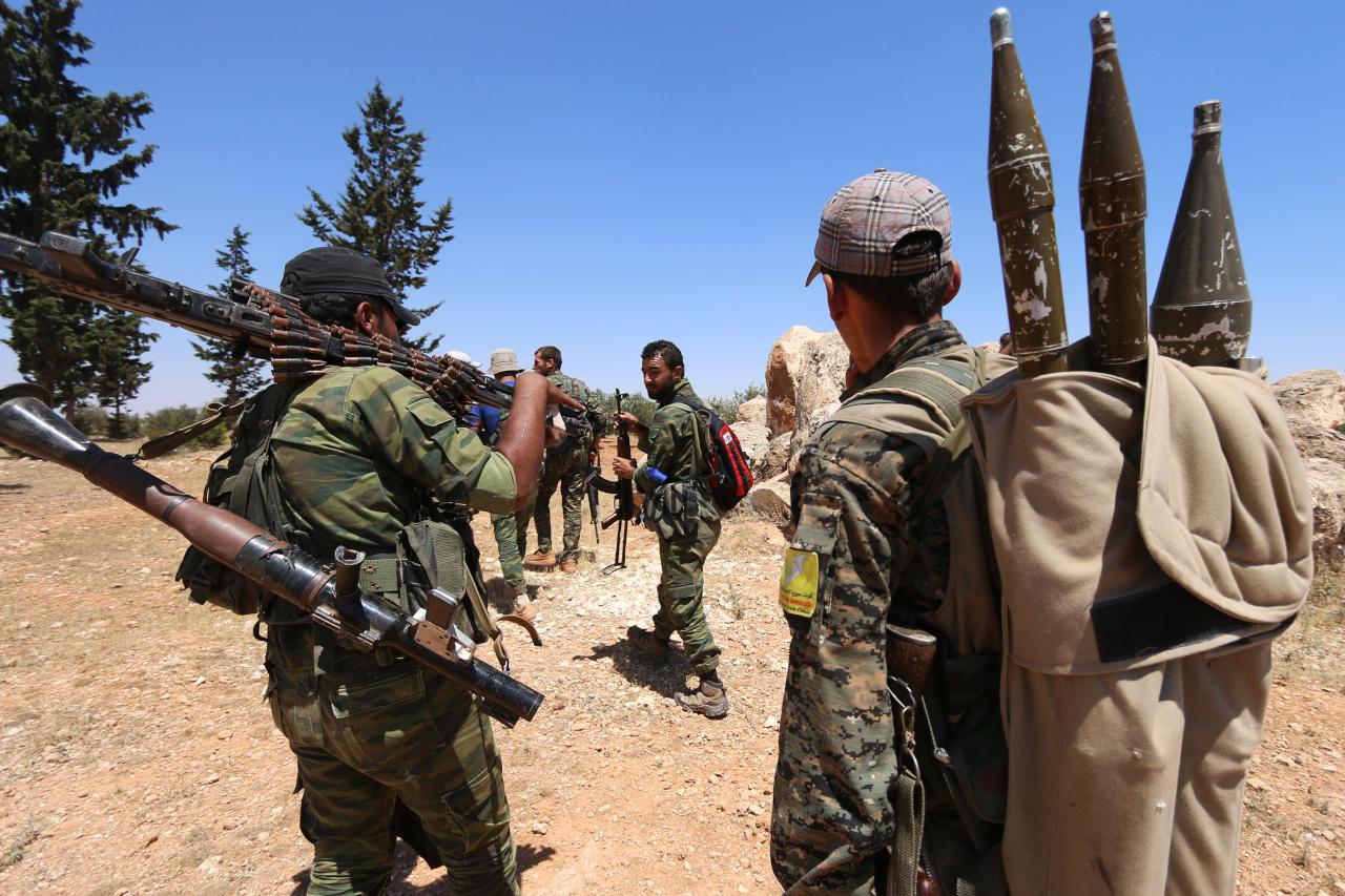 ترامب يزود أكراد سوريا الانفصاليين بأسلحة نوعية لأول مرة