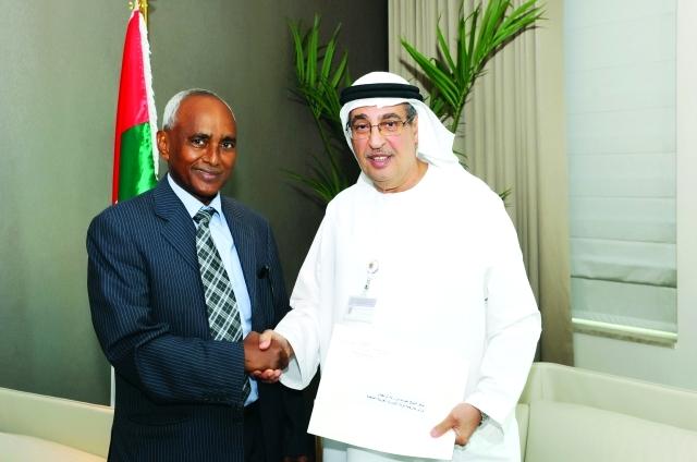 اعتماد السفير الأريتيري الجديد لدى الإمارات