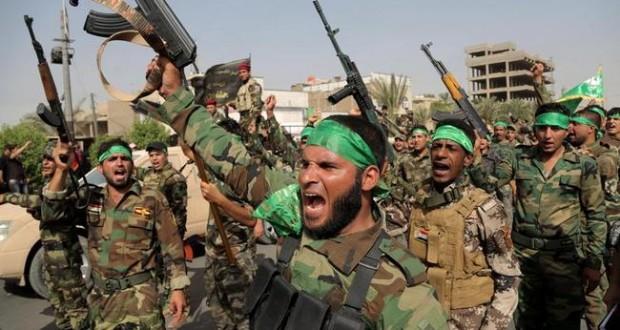 جرائم طائفية.. ميليشيا الحشد تفجر مسجدين وتحرق منازل بالرطبة العراقية