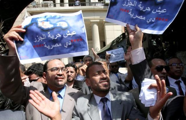 """مصر: السيسي يصدق على اتفاقية """"تيران وصنافير"""""""
