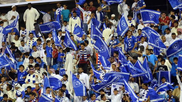 تغريم الهلال السعودي 100 ألف ريال بسبب الجماهير