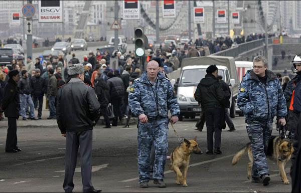 الإعلان عن القبض على خلية كانت تحضر لهجمات في روسيا