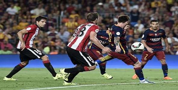 برشلونة يفشل في التعويض أمام بلباو و يخسر كأس السوبر الإسباني