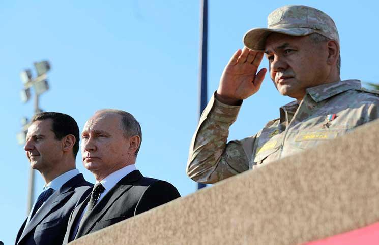 البنتاغون تشكك بانسحاب روسيا من سوريا