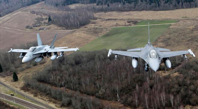 المغرب يرسل طائرات إف – 16 لقتال داعش