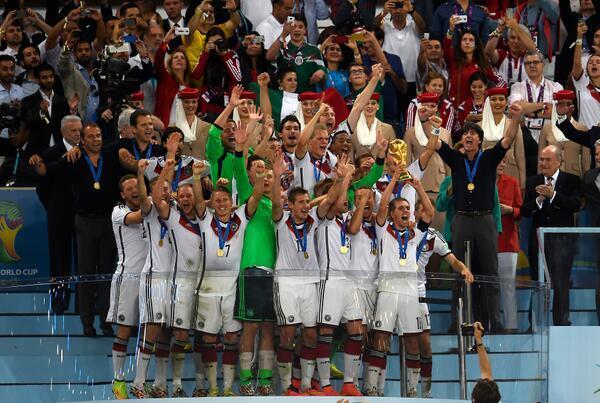 ألمانيا تعانق كأس العالم بعد غياب 14 عاماً