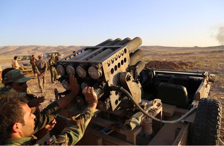 قوات البيشمركة الكردية تستعيد مناطق في شمال العراق