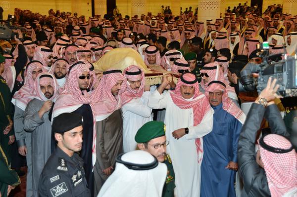 السعودية تشيع ملكها الراحل عبدالله بن عبدالعزيز