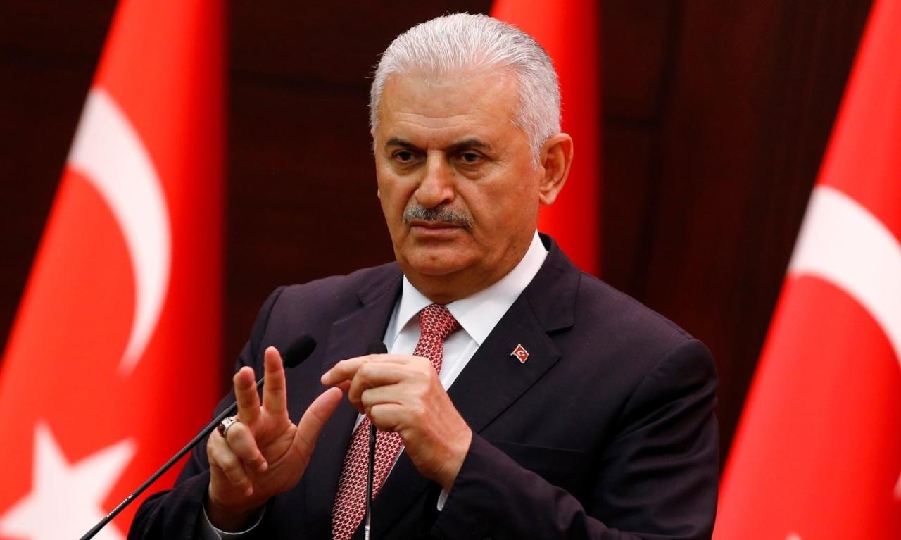 يلديريم: دول عربية حزنت لفشل الانقلاب ونبحث عن داعميه