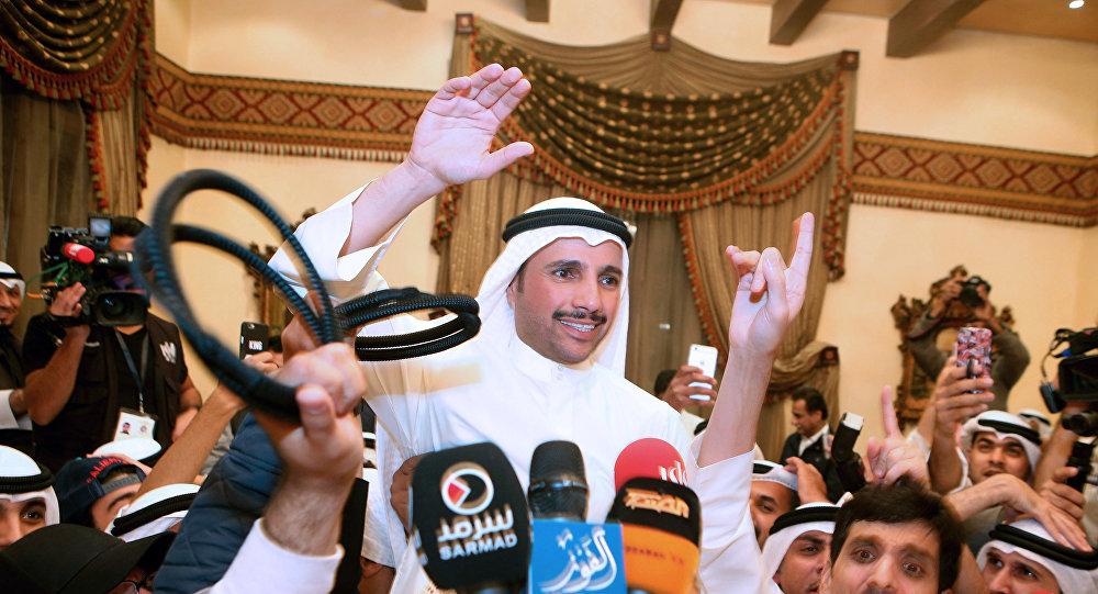 استقبال تاريخي لرئيس مجلس الأمة الكويتي بعد صفعة وجهها لإسرائيل
