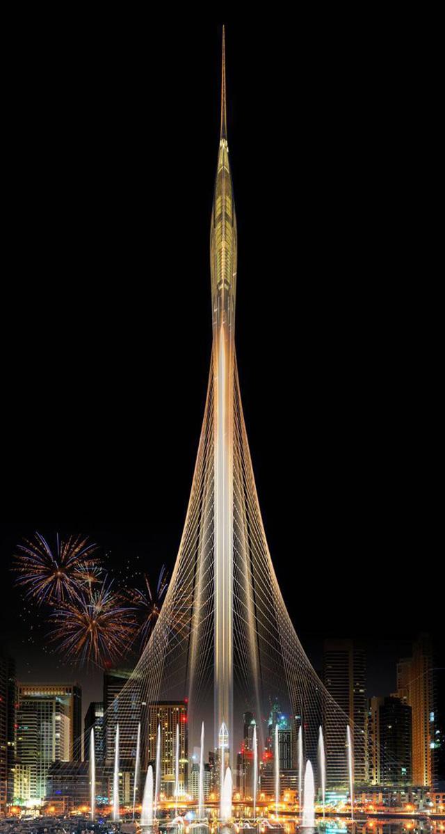 طوكيو تتحدى دبي بناطحة النجوم العملاقة والأخيرة تعتمد التحفة