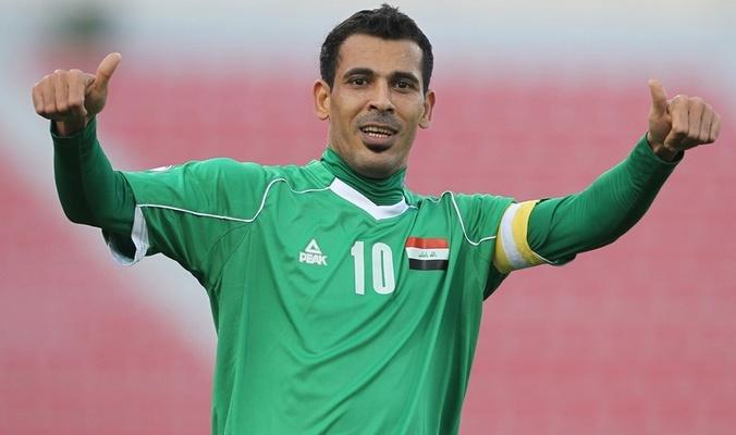 قائد المنتخب العراقي يهدي الفوز للشعب الفلسطيني