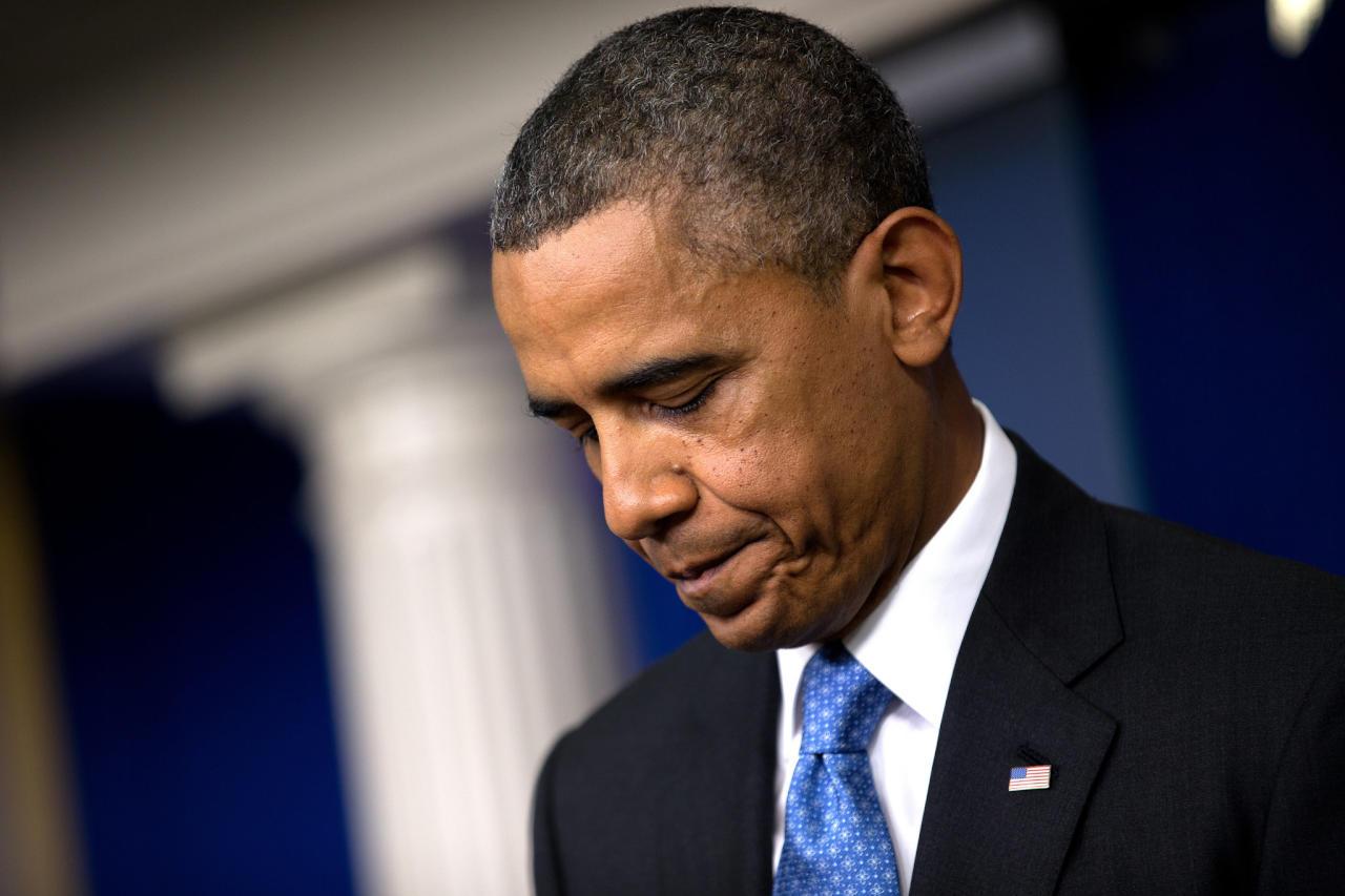 أوباما يُقر بفشله في إيجاد حل للقضية الفلسطينية