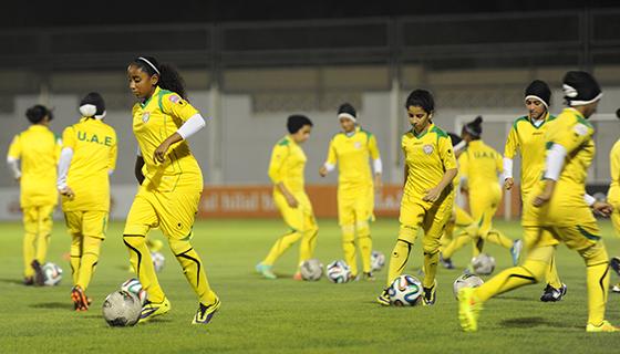 منتخب الناشئات يستعد لتصفيات بطولة آسيا