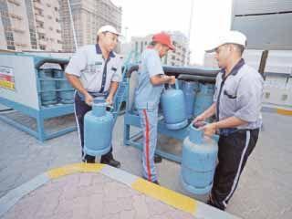 أدنوك تضاعف كميات أسطوانات الغاز في الإمارات الشمالية
