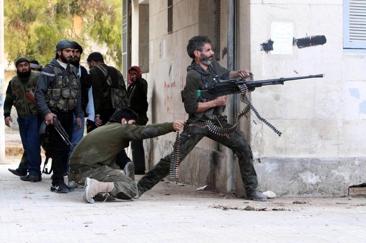المعارضة السورية تقترب من فك حصار القلمون الشرقي